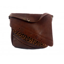 Shoulder bag genuin leather