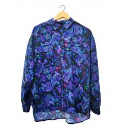 Camicia vintage seta pura