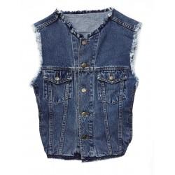 Gilet jeans Roberto Cavalli