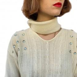 Maglione lana e angora