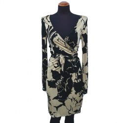 Valentino floral drawing dress