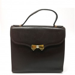Nina Ricci dark brown bag