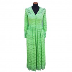 Green end of 60's dress