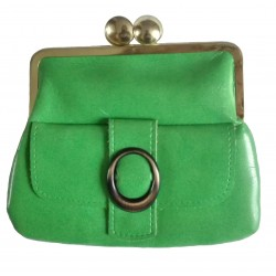 Green vintage wallet