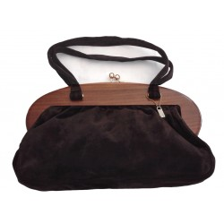 Vintage brown leather bag