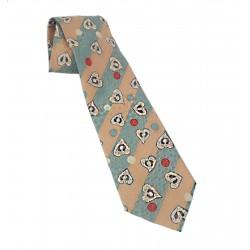 Cravatta Ysl stampa cuori e...