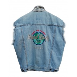 Gilet Hard Rock Cafe denim