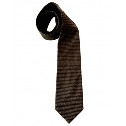 Fendi tie with printed logo