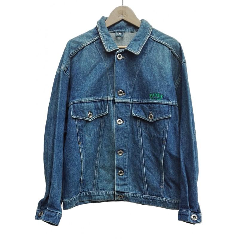 innovative design 8e65a c5efb Giacca jeans Hugo Boss