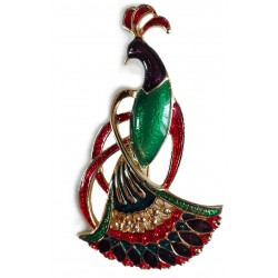 Bird of Paradise brooch