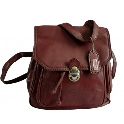 "Real leather backpack ""I..."