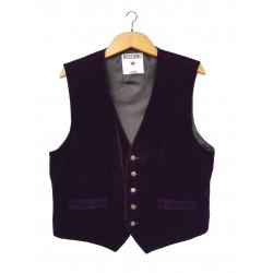 Moschino dark violet velvet...